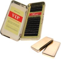 Ресницы шелк VIP-MINK MIX C 0.15 (Korea) Gold box